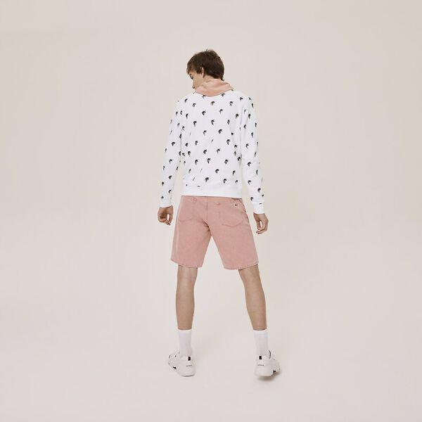 Unisex Lacoste x Jean-Michel Tixier Print Sweatshirt, WHITE, hi-res