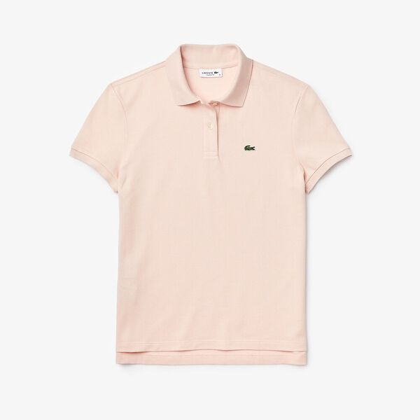 Women's Lacoste Classic Fit Soft Cotton Petit Piqué Polo Shirt, NIDUS, hi-res