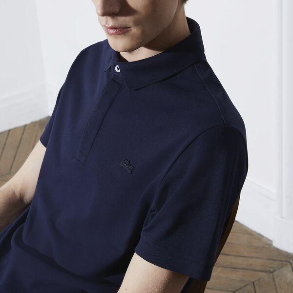 Men's Paris Stretch Polo, NAVY BLUE, hi-res