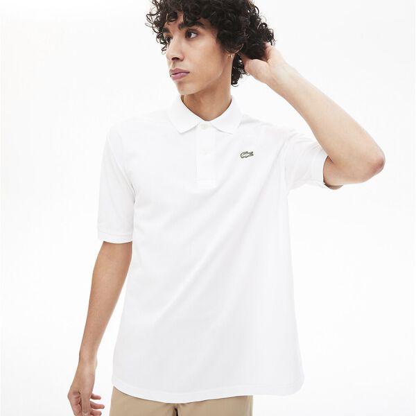 Men's Lacoste LIVE Loose Fit Cotton Piqué Polo Shirt