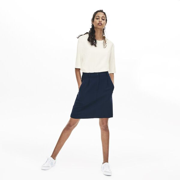 Women's Lacoste Motion Shirt, FLOUR, hi-res