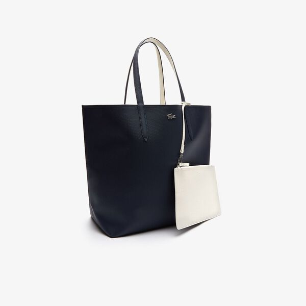 Women's Anna Large Shopping Bag, DARK SAPPHIRE MARSHMALLOW, hi-res