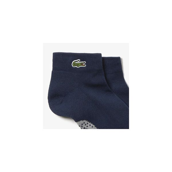 Mid Ankle Socks, NAVY BLUE/SILVER CHINE, hi-res
