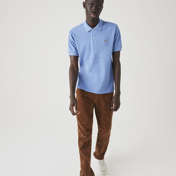 Men's Marl Classic Fit L.12.12 Polo, IPOMEE CHINE, hi-res