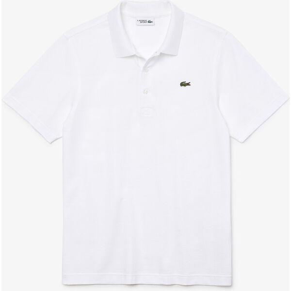 Men's Lacoste SPORT Tennis regular fit Polo Shirt in ultra-lightweight knit, WHITE, hi-res