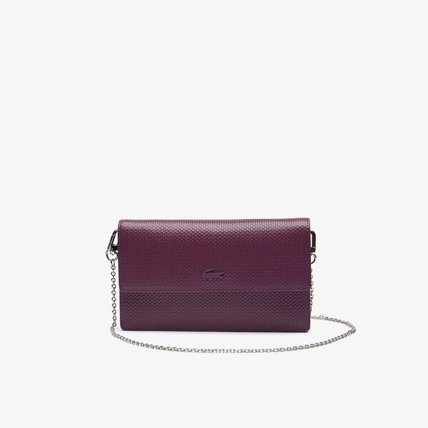 Women's Chantaco Chain Strap Leather Flap Clutch Bag