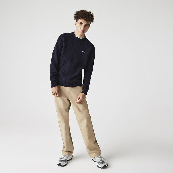 Men's Wool Knitted Sweater