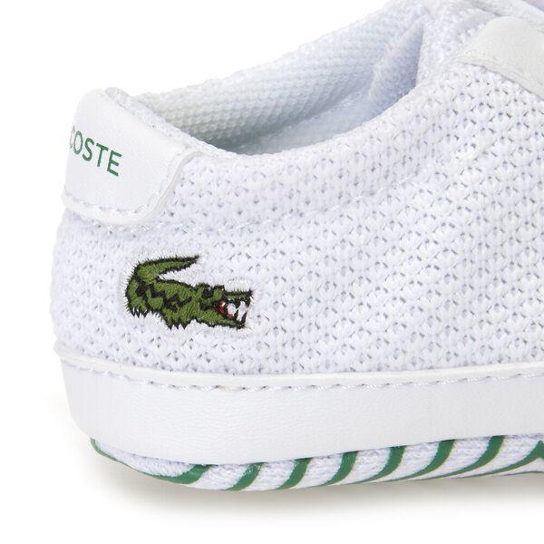 BABY L.12.12 CRIB 318 1, WHITE/GREEN, hi-res