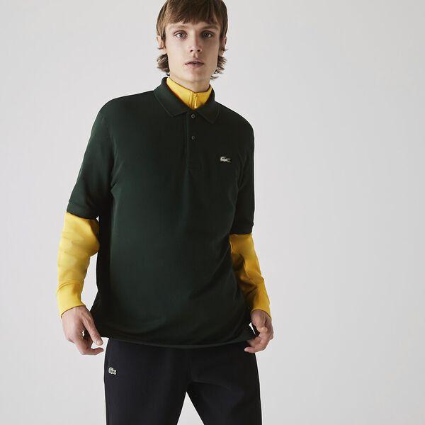 Men's LIVE Relaxed-Fit Cotton Piqué Polo, SINOPLE, hi-res