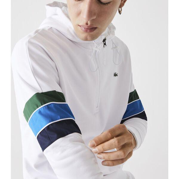 Men's SPORT Hooded Colorblock Fleece Sweatshirt