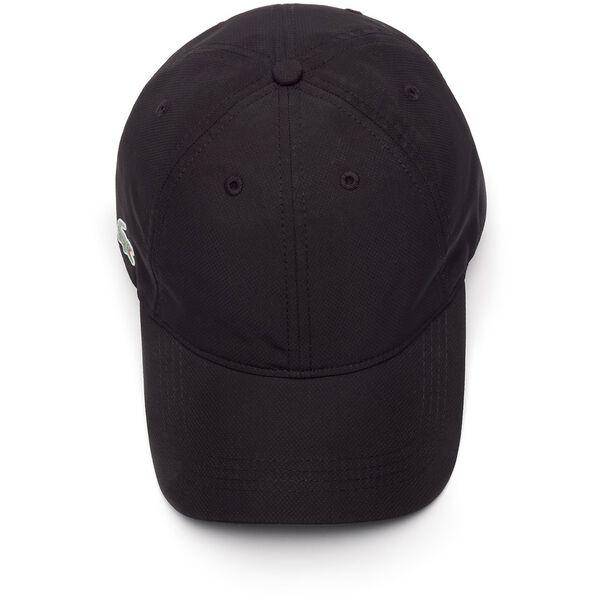 MEN'S BASIC DRY FIT CAP, BLACK, hi-res