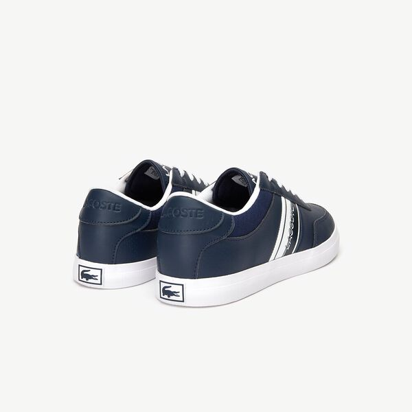 KIDS' COURT-MASTER 319 1, NAVY/WHITE, hi-res