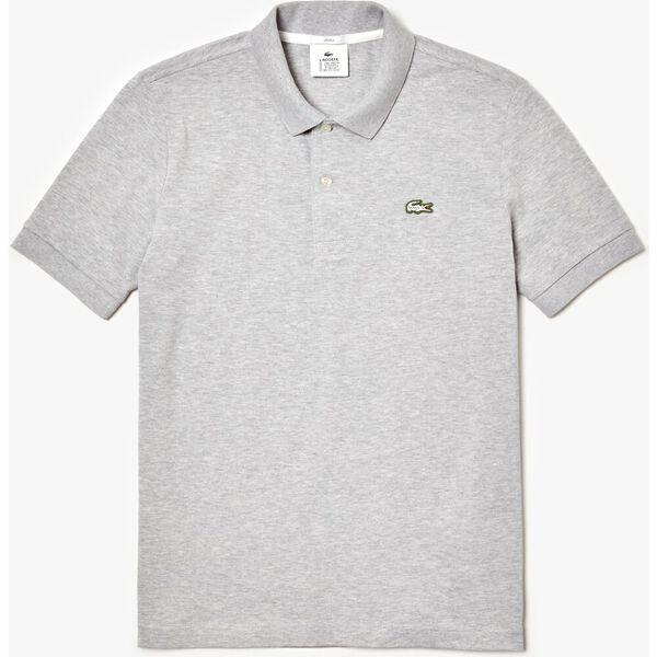 Unisex LIVE Slim Fit Stretch Cotton Piqué Polo, ARGENT CHINE, hi-res