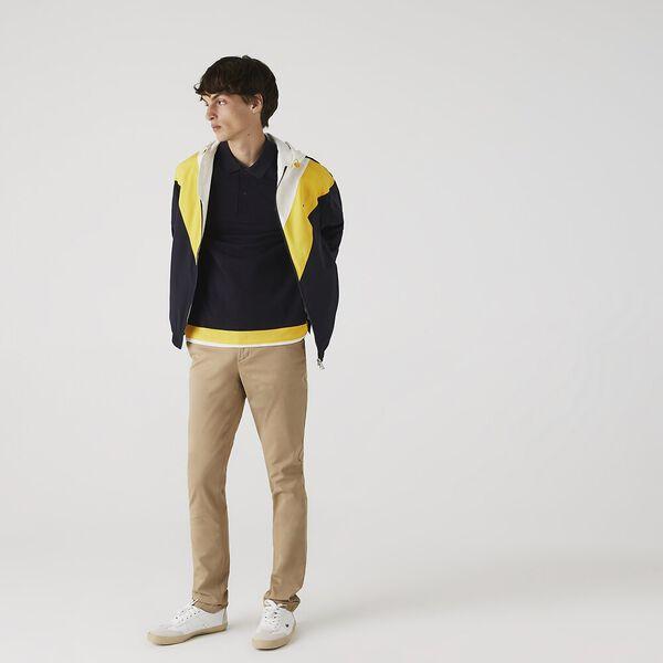 Men's Slim Fit Gabardine Chino Pants