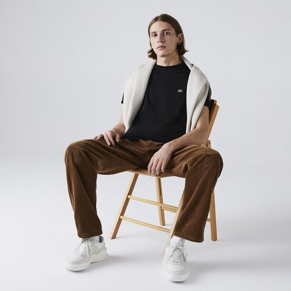 Men's Basic Crew Neck Pima Tee