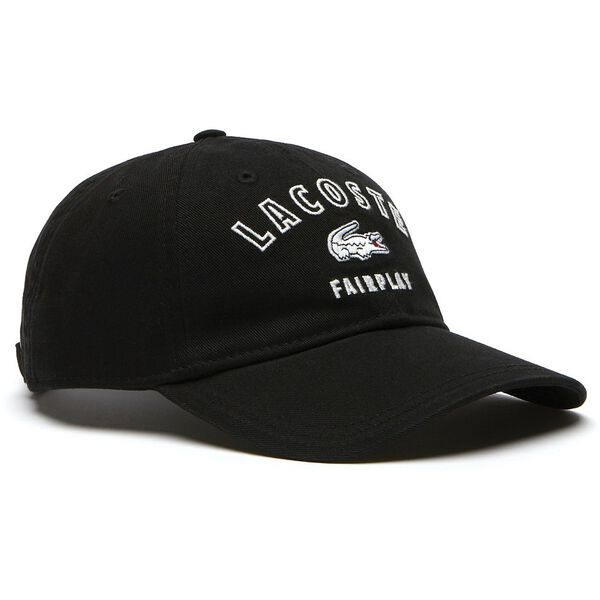 MEN'S FAIRPLAY COTTON GABARDINE CAP, BLACK, hi-res