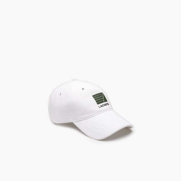 Nautical Logo Cap, WHITE, hi-res
