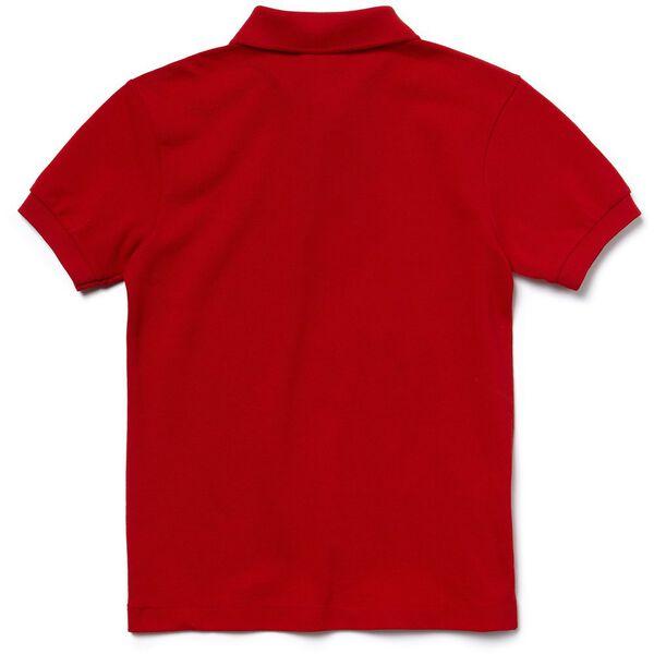 UNISEX KIDS BASIC POLO, RED, hi-res