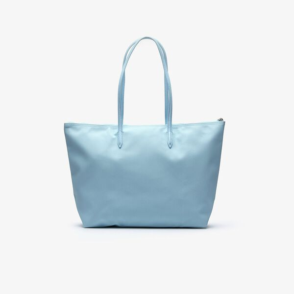WOMEN'S L.12.12 LARGE SHOPPING BAG, CLEARWATER, hi-res