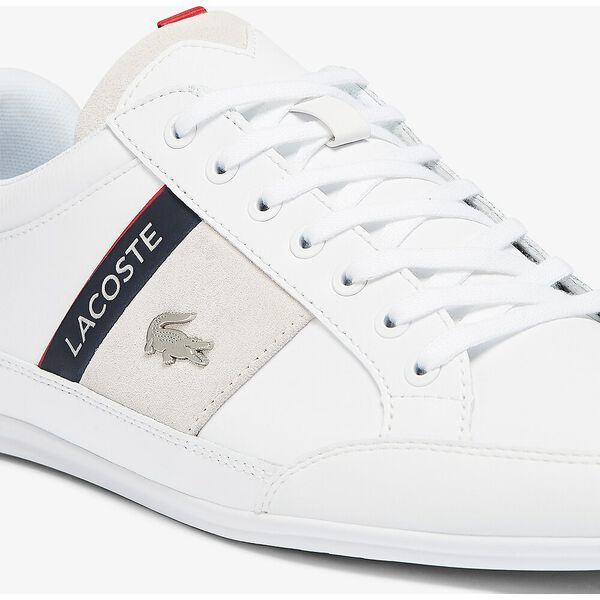 Men's Chaymon Sneakers, WHITE/NAVY, hi-res
