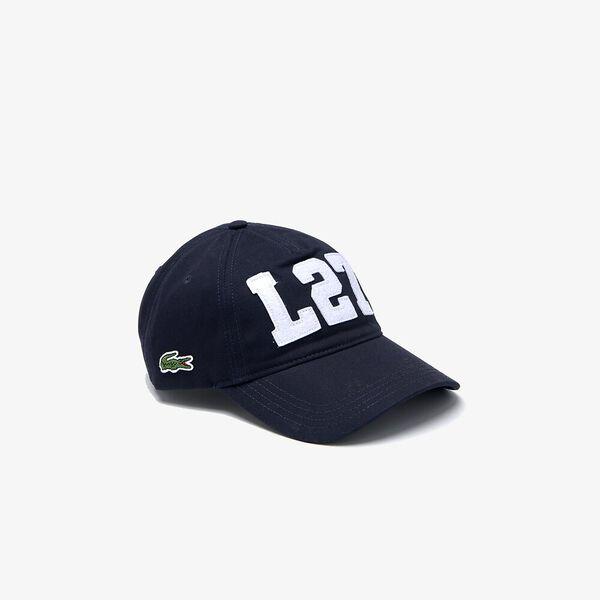 Men's L27 Patch Cotton Cap
