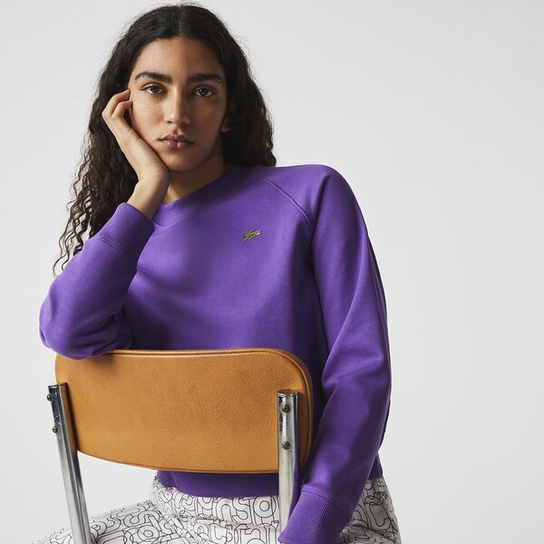 Women's LIVE Cropped Fleece Sweatshirt