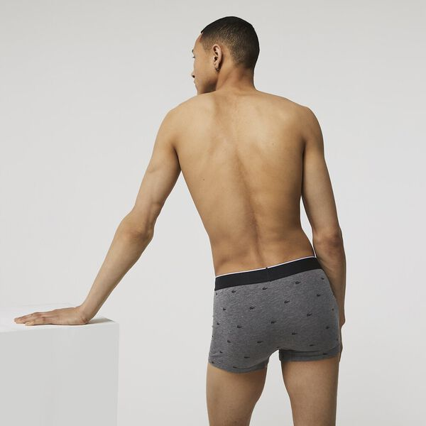 Pack Of 3 Casual Signature Boxer Briefs, BLACK/PITCH CHINE-SILVER, hi-res