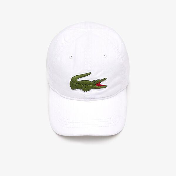 MEN'S BIG CROC CAP, WHITE, hi-res