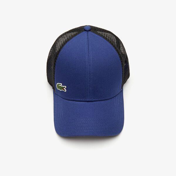 Men's SPORT Trucker Cap, METHYLENE/NOIR-BLANC, hi-res