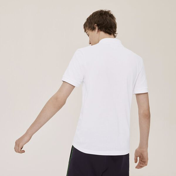 Men's Jeremyville Tennis Logo Polo, WHITE, hi-res