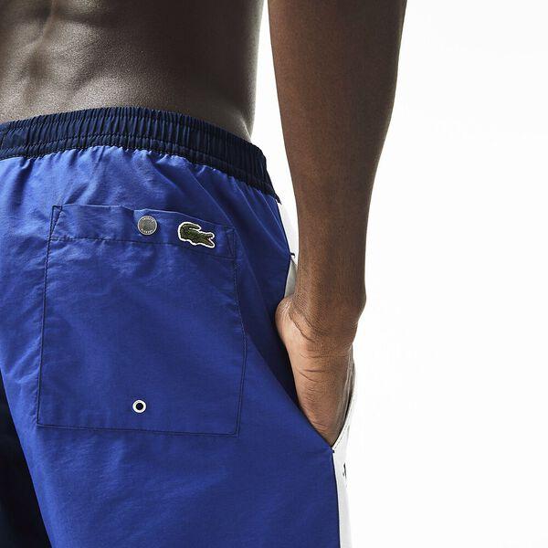 MEN'S LOGO PRINT SHORT, NAVY BLUE/CAPTAIN/CREEK, hi-res