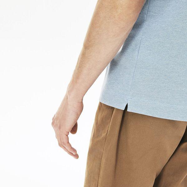 Men's Lacoste Paris Polo Shirt Regular Fit Stretch Cotton Piqué, FANION CHINE, hi-res