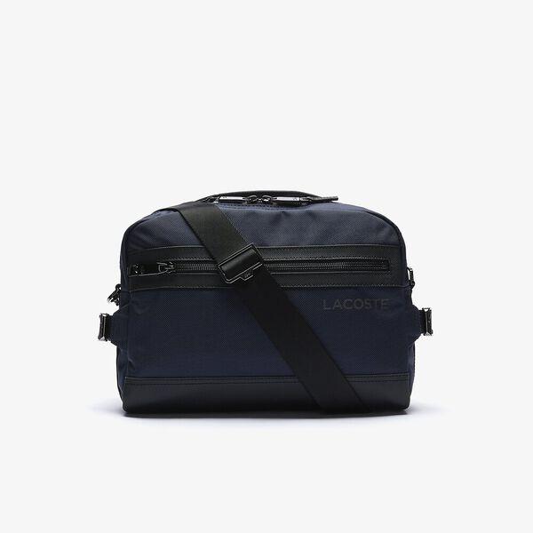 Men's L On The Go Shoulder Strap Resistant Canvas Messenger Bag