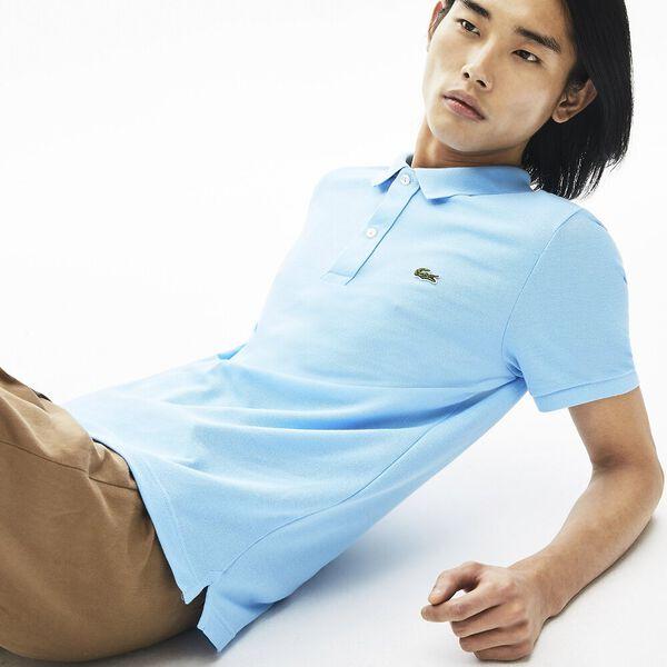 Men's Slim Fit Polo, BARBEAU, hi-res