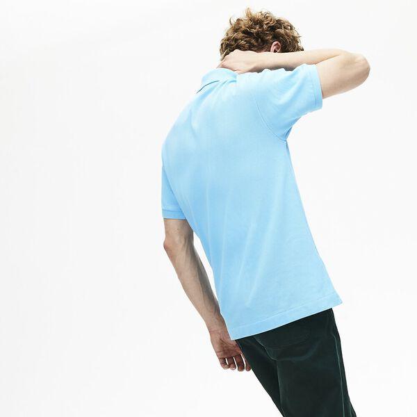 Men's L.12.12 Classic Polo, BARBEAU BLUE, hi-res