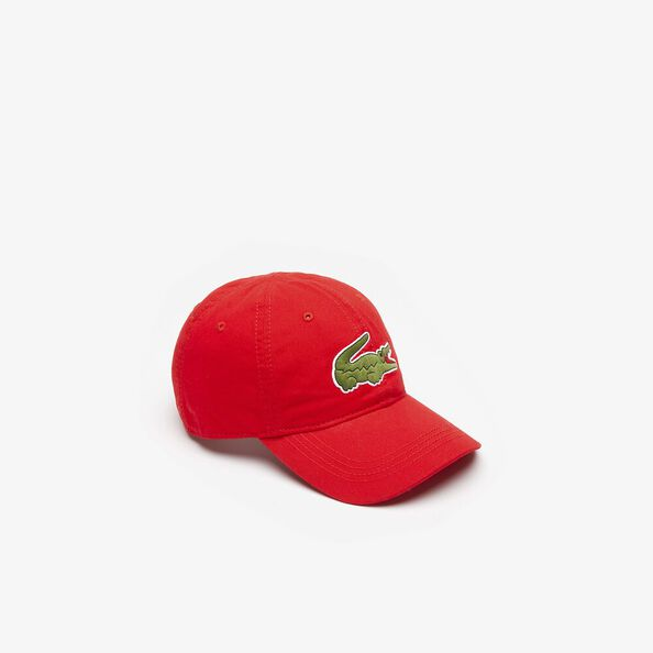 MEN'S BIG CROC CAP, RED, hi-res