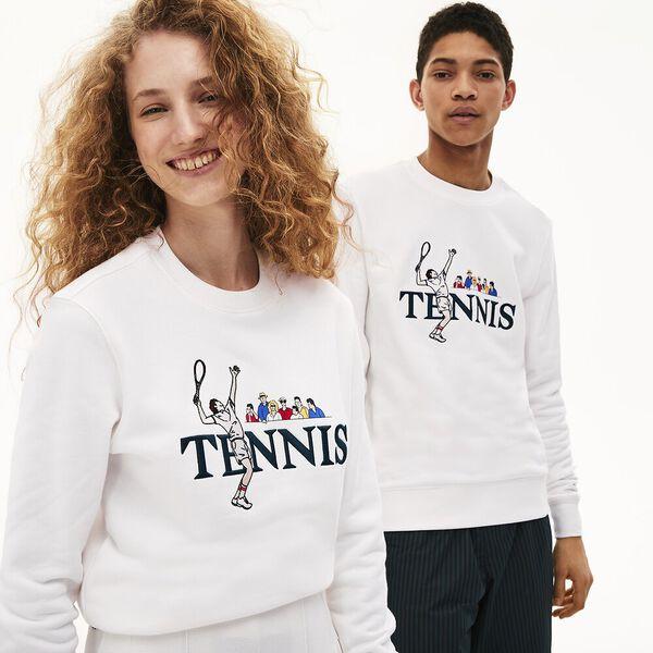 Unisex Lacoste LIVE Lacoste Tennis Design Sweatshirt