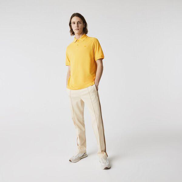Men's Ultra-Lightweight Piqué Polo, YELLOW, hi-res