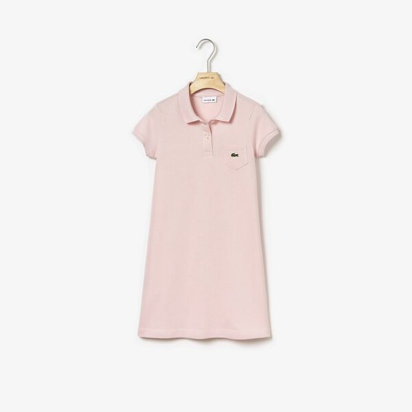 GIRLS POLO DRESS W POCKET