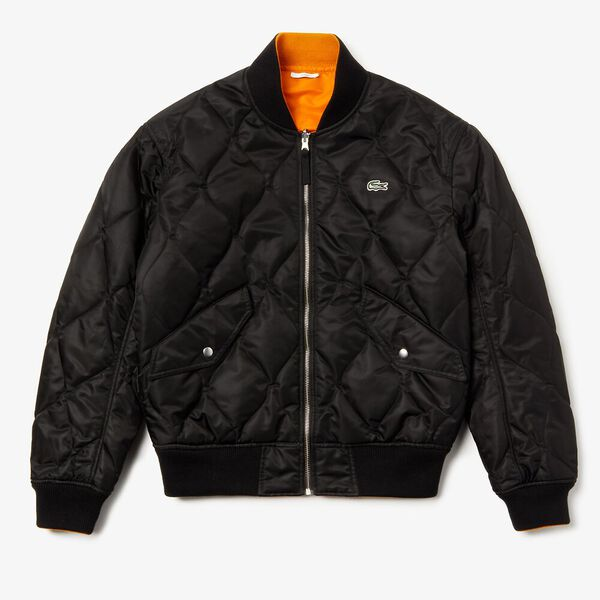 Unisex L!Ive Iconic Nylon Jacket, BLACK/ABRICOTINE, hi-res