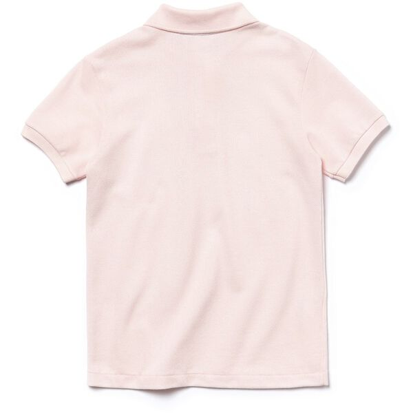 Unisex Kids Basic Polo, FLAMINGO, hi-res