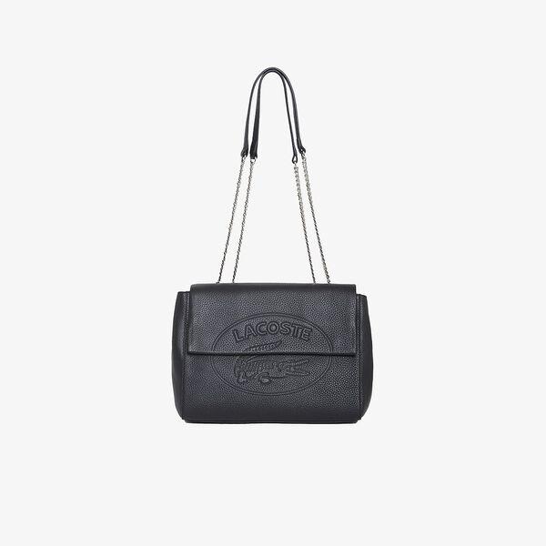 Women's Croco Crew Satchel Bag