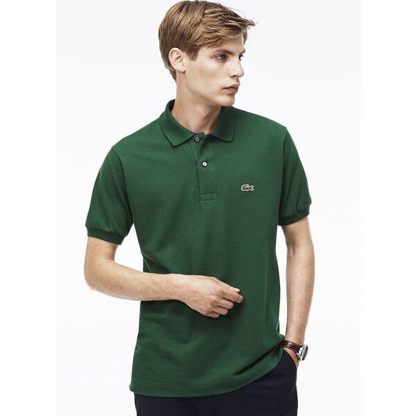 Men's L.12.12 Classic Polo, GREEN, hi-res