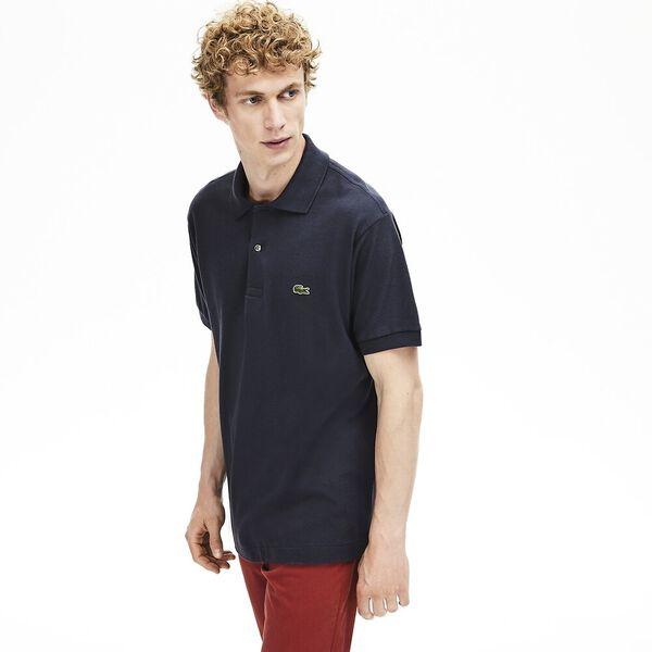 Men's L.12.12 Classic Polo, GRAPHITE, hi-res