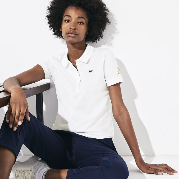 WOMEN'S PRESIDENTS CUP JERSEY POLO, WHITE, hi-res