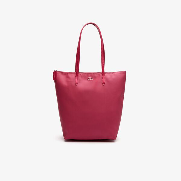 Women's L.12.12 Vertical Shopping Bag, SANGRIA, hi-res