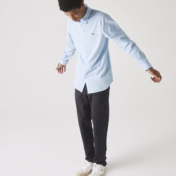 Men's Slim Fit Poplin Shirt
