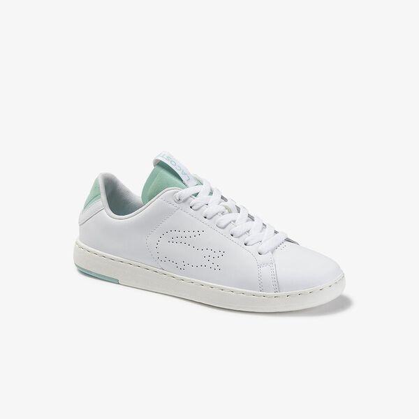 Women's Carnaby Evo Light-Wt 120 1 Sneaker, WHITE/LIGHT GREEN, hi-res