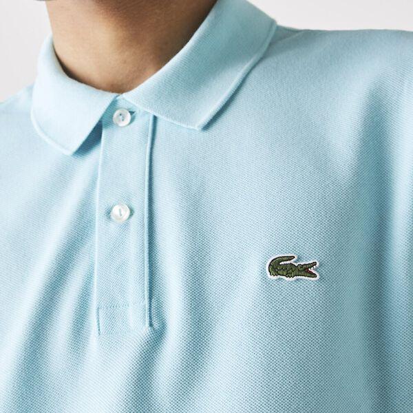 Men's Slim Fit Polo, POND, hi-res