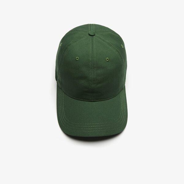 Contrast Strap Cotton Cap, ARGENT CHINE, hi-res
